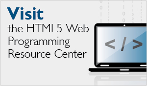 HTML5 Resource Center