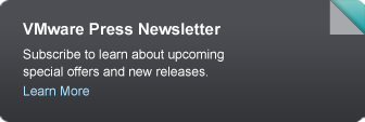 VMware Press Newsletter