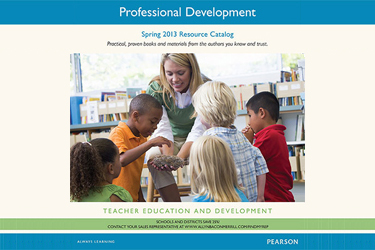 Download a copy of the Spring 2013 Professional Development Catalog