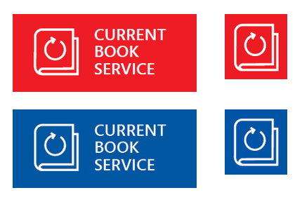 Image: Current Book Service logos