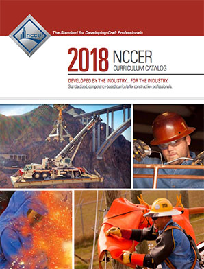 2018 NCCER Curriculum Catalog