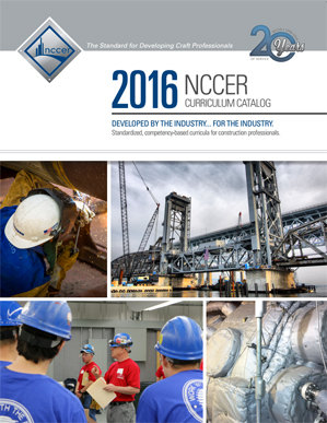2015 NCCER Curriculum Catalog