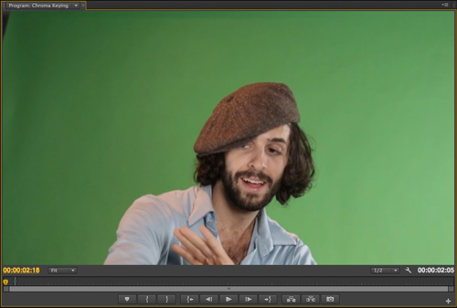 Keying and Compositing Green Screen Footage in Adobe Premiere Pro ...