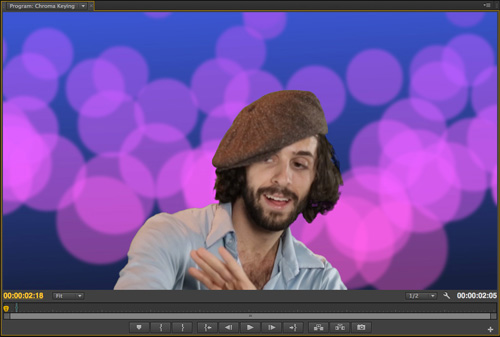 Keying and Compositing Green Screen Footage in Adobe