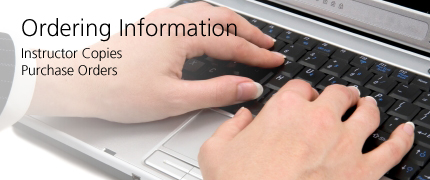 Ordering Information: Instructor Copies, Purchase Orders