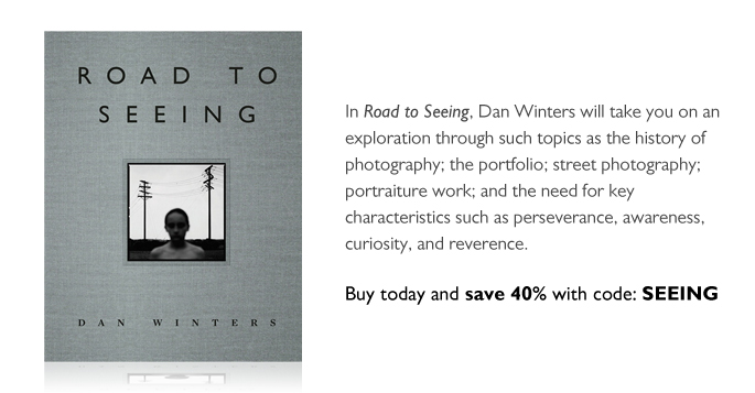 Road to Seeing: Save 40% with coupon SEEING