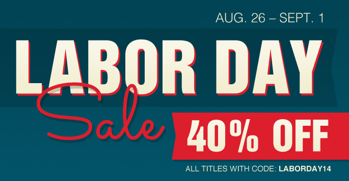 Labor Day Sale: Save 40% on all books, eBooks, and videos
