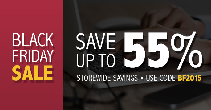 Black Friday Sale: Save up to 55% off