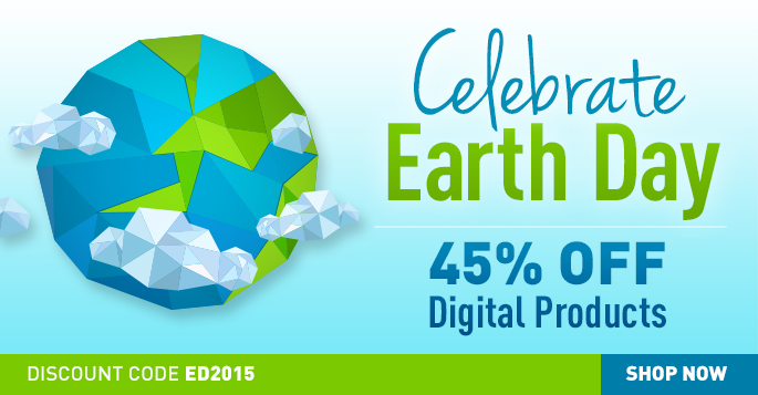 Save 45% on eBooks and Video in the Adobe Press Earth Day Sale