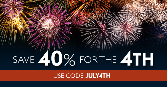July 4 Sale: Save 40% on Books, eBooks, and Video