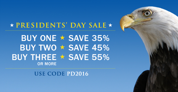 Presidents' Day Sale: Save up to 55% on Books, eBooks, and Video