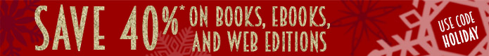 Save 40% on books, eBooks, and Web Editions in the Holiday Sale from Peachpit
