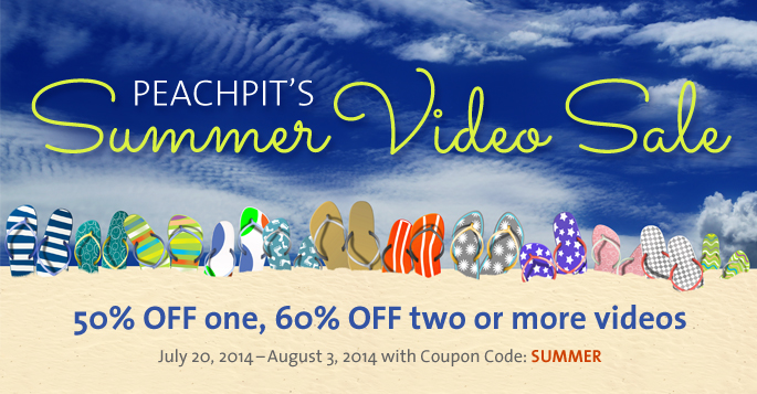 Summer Video Sale: Buy 1, Save 50% or Buy 2, Save 60%