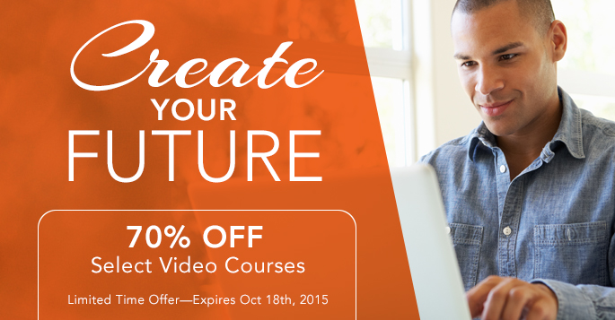 Create Your Future: Save 70% on Select Videos