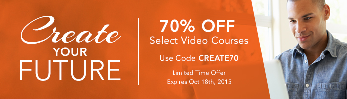 Save 70% on Videos from Peachpit