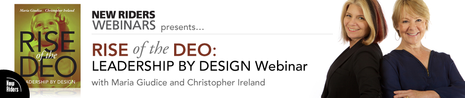 New Riders Webinars Presents: Rise of the DEO: Leadership By Design