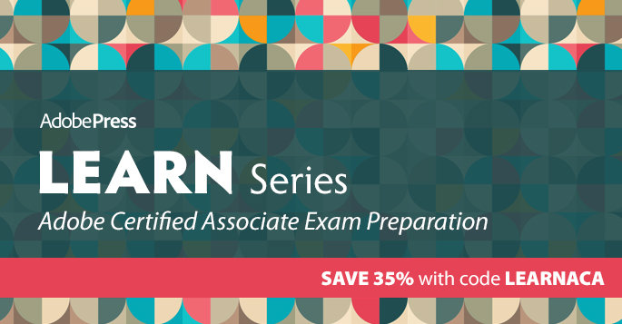 Save 35% on the Adobe Certified Associate (ACA) series