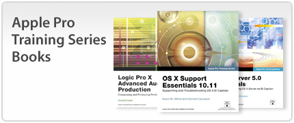 Apple Pro Training Series Books
