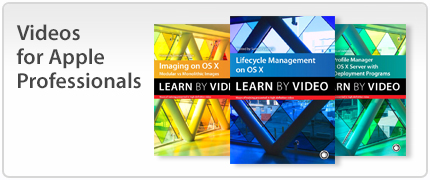 Apple Pro Training Series Video