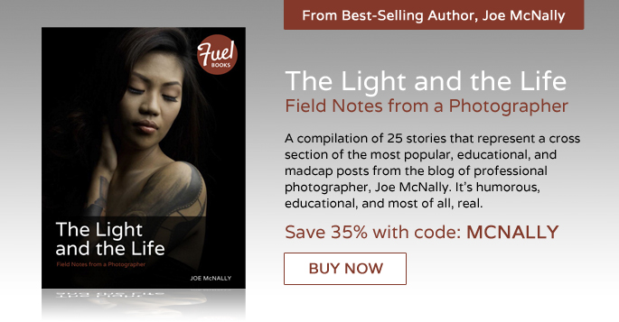 Joe McNally's The Light and the Life: Field Notes from a Photographer