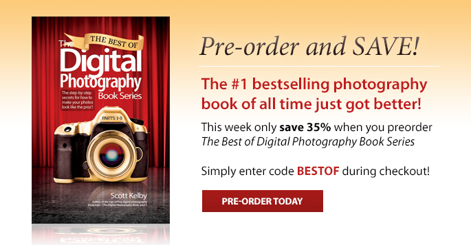 Pre-order and save 35% on the best digital photography tips of all time!