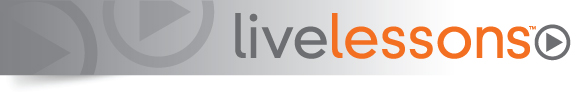LiveLessons Series from Pearson IT Certification