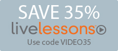 Save 35% on Video Tutorials from Pearson IT Certification
