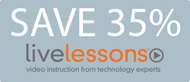 Save 35% on LiveLessons Video Training from Pearson IT Certification