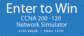 Enter to Win a Free CCNA Routing and Switching Network Simulator from Pearson IT Certification