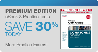 Premium Edition eBooks from Pearson IT Certification