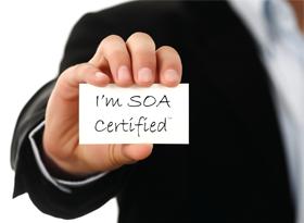 I'm SOA Certified