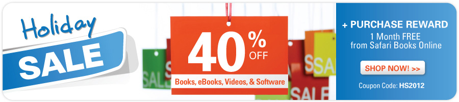 Holiday Sale from Pearson IT Certification