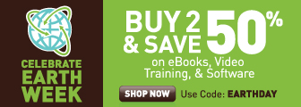 Buy 2 or more eligible eBooks, videos, or software downloads and save 50% with discount code EARTHDAY