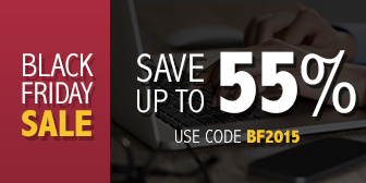 Save up to 55% in the Black Friday Sale from Pearson IT Certification