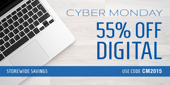 Save 55% on digital learning in the Cyber Monday Sale from Pearson IT Certification