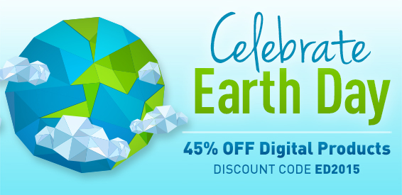 Save 45% on eBooks, Video Training, Simulators, and Practice Tests in the Earth Day Sale from Pearson IT Certification