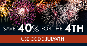 Save 40% in the Fourth of July Sale from Pearson IT Certification