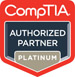 Authorized CompTIA Platinum Partner badge