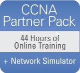 CCNA Partner Pack from Pearson IT Certification and CBT Nuggets