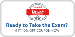 Save 10% on CompTIA Linux+ Exam Voucher