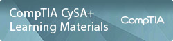 CompTIA CySA+ Learning Materials