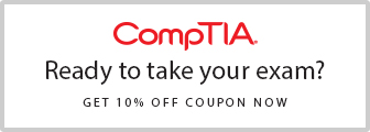 Save 10% on CompTIA Exam Vouchers