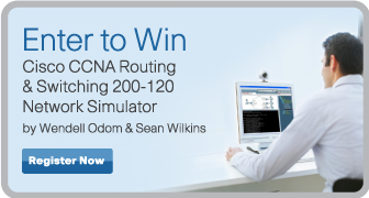 Enter to Win a CCNA Routing & Switching Simulator from Pearson IT Certification