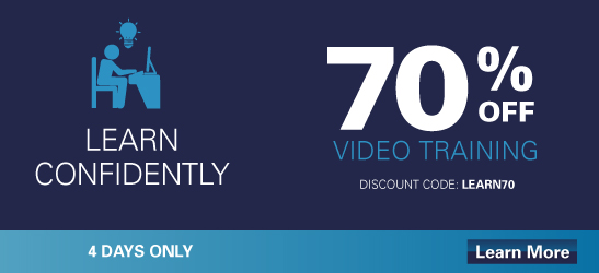 Save up to 70% on Select Video Courses from Cisco Press