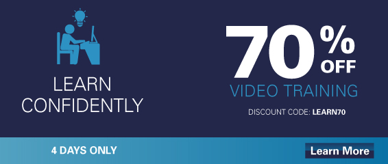 Save up to 70% on Select Video Courses from Pearson IT Certification