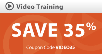 Save 35% on Video Training