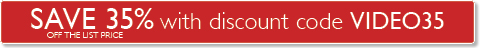 Save 35% off list price with discount code VIDEO35