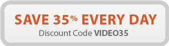 Save 35% every day with discount code: VIDEO35