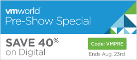 Save 40% on Digital Learning Products in the VMworld Pre-Show Sale from VMware Press