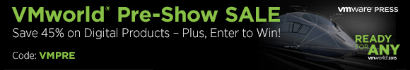 VMworld Pre-Show Sale: Save 45% on Digital Learning with Discount Code VMPRE